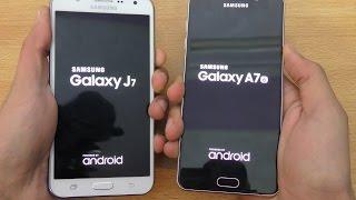 samsung galaxy a7 2016 vs galaxy j7 speed camera test 4k