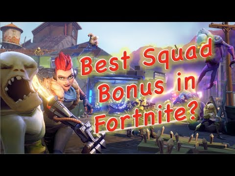 Is Increase Ability Damage the Best Squad Bonus in Fortnite?