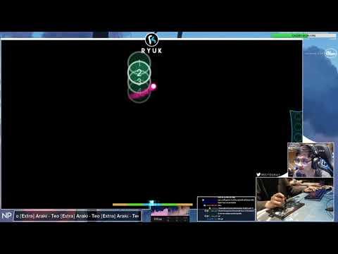 [Live] RyuK | Araki - Teo [Extra] +HDDT 96.7% {#1 668pp FC} - Osu!