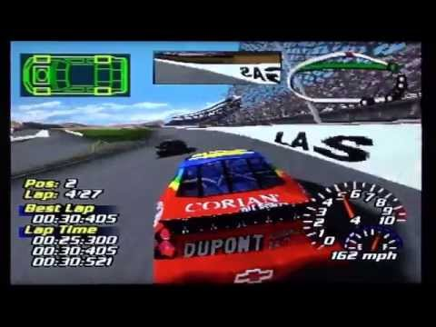 NASCAR 2001 (PS1) - Race 3/34 - Carsdirect.com 400