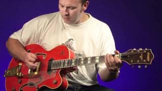 Darrel Higham hybrid picking video tutorial Guitarist Magazine HD