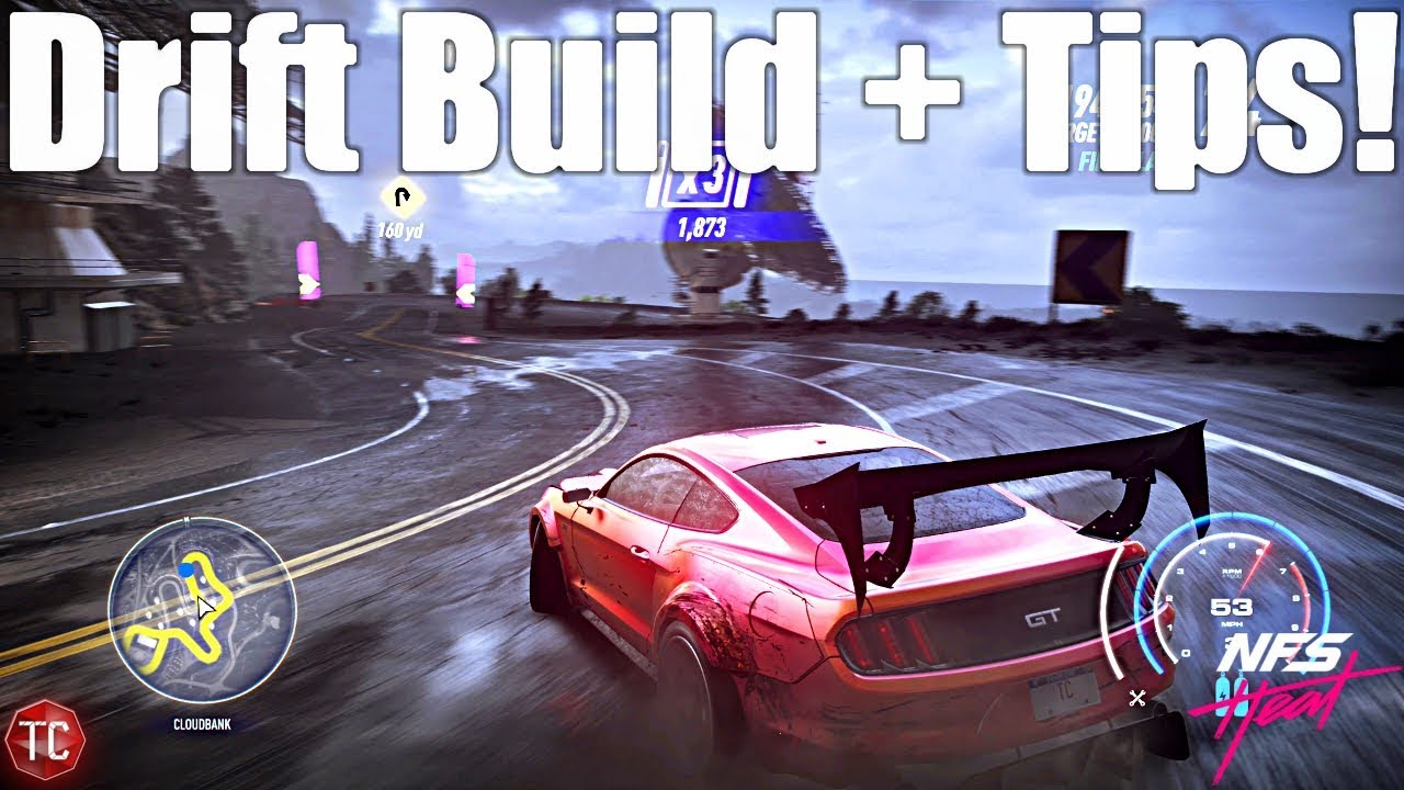 Need For Speed Heat Mustang Gt Drift Build Drifting Tips
