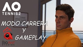 AO Tennis 2 | Novedades del Modo Carrera y Impresiones al Gameplay | marratxiboy