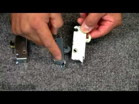 How-To Identify & Replace a Sliding Glass Door Mortise Lock