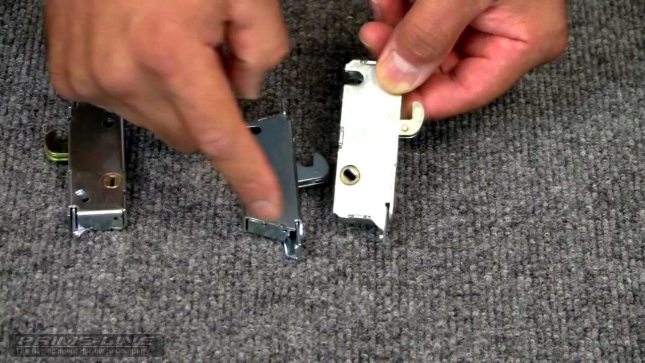 how to identify replace a sliding glass door mortise lock