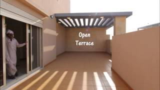 Brand New - High Quality 3BR Roof Villa with Private Terrace - in Zahra, Jeddah - ZA0119-17