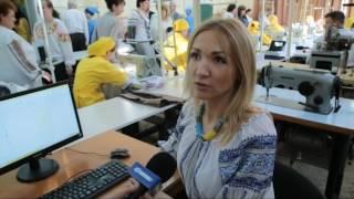 Вдкриття навчально практичного центру сучасних швейних технологй ВПУ ЂЂЂ 3 м.Чернвц
