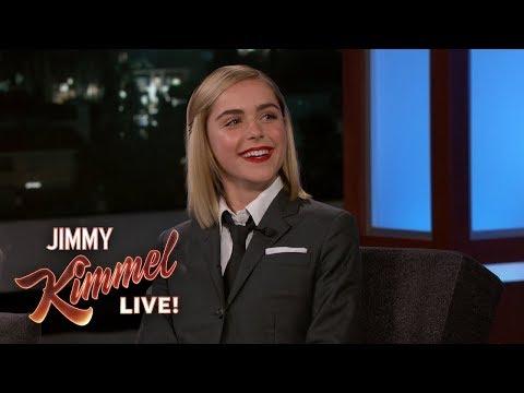 Watch the adorable pre-Mad Men Kiernan Shipka throw a fake tantrum at Jimmy Kimmel's uncle