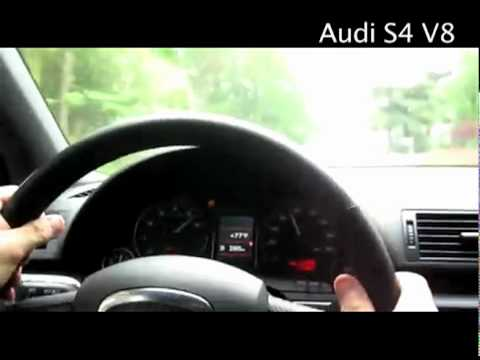 Audi S Models Startups, and Accelerations