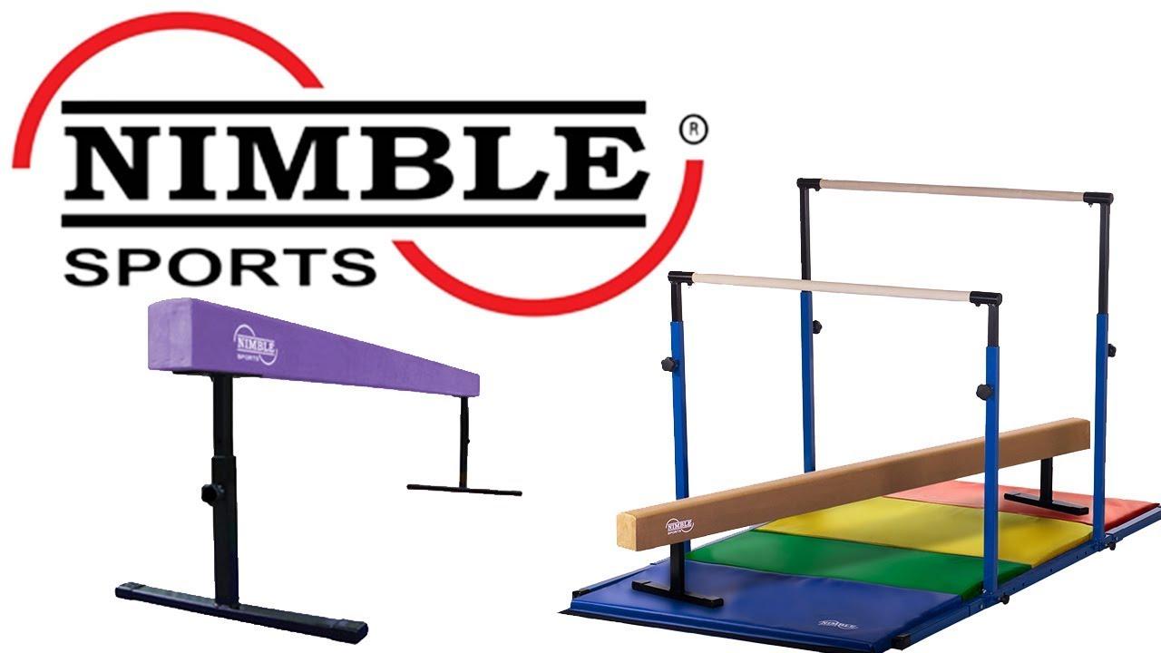 Kids Home Gymnastics Equipment Set