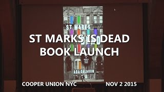 PUNKCAST3051 Book Launch Party for Ada Calhoun's book St. Marks Is ...