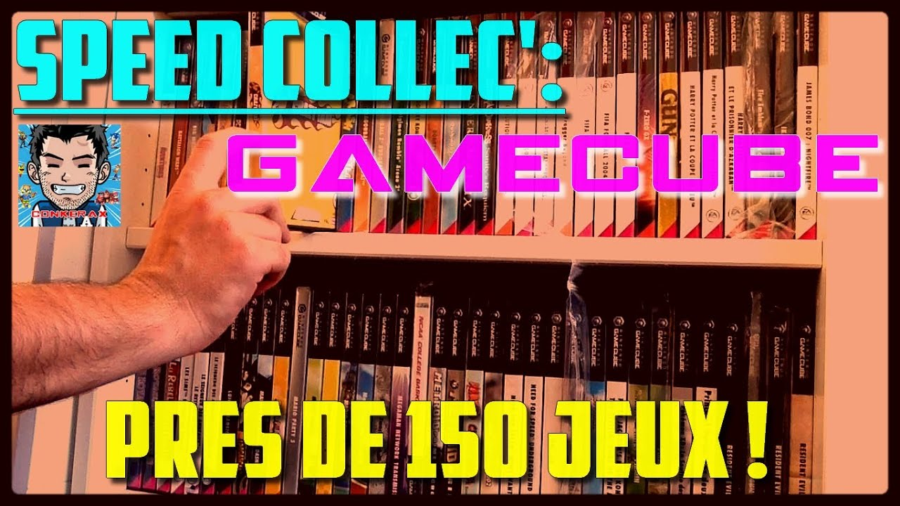 Conkerax  - Speed Collec' : Evolution de ma collection Gamecube - Près de 150 jeux !