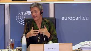 Hearing of Margrethe Vestager, Executive Vice President-designate, Europe fit for the Digital Age