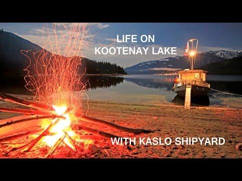 Life on Kootenay Lake with Kaslo Shipyard Houseboats