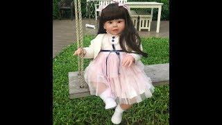 Обложка на видео о Девочка Реборн 70смРеборн с АлиэкспрессПокупки на Алиэкспресс