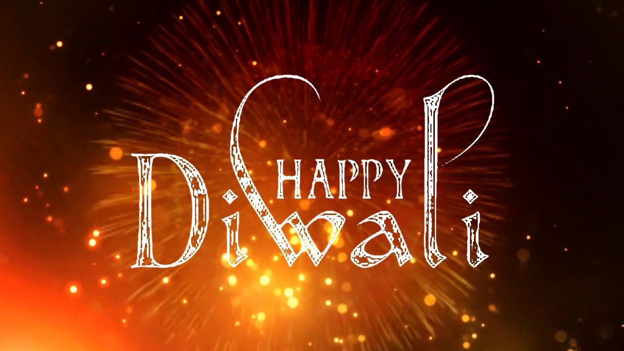 Happy Diwali Background Animated Effect Video Youtube