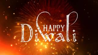 Happy Diwali Background Animated Effect Video