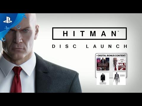 HITMAN - Disc Launch Trailer   PS4