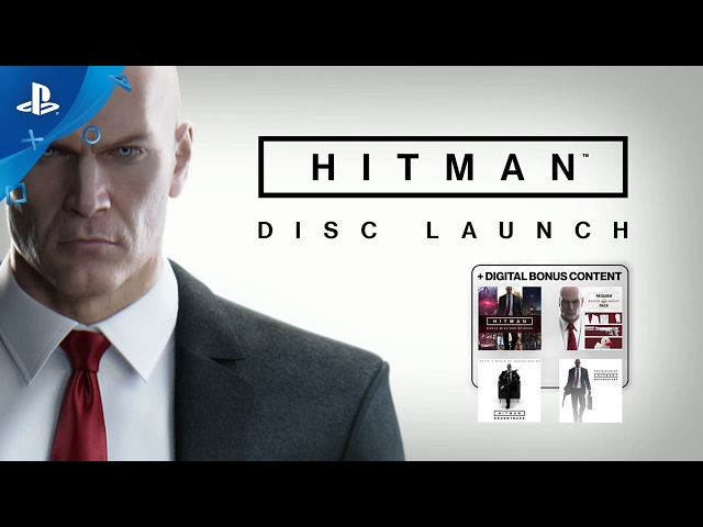 HITMAN - Disc Launch Trailer | PS4
