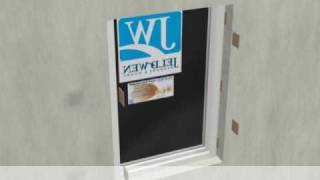 jeld wen flush fin or windowmaster ez frame vinyl window installation