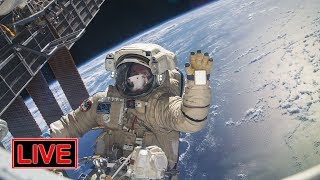 REPLAY: 7h 45m Russian spacewalk to investigate mysterious hole in Soyuz module (12/11/2018)