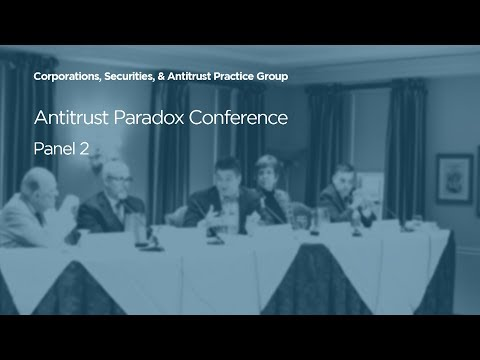 Current State-of-Play [2018 Antitrust Paradox Conference]