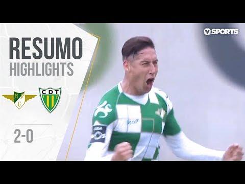 Highlights | Resumo: Moreirense 2-0 Tondela (Liga 18/19 #22)