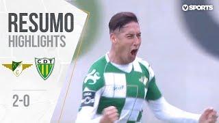 Highlights   Resumo: Moreirense 2-0 Tondela (Liga 18/19 #22)