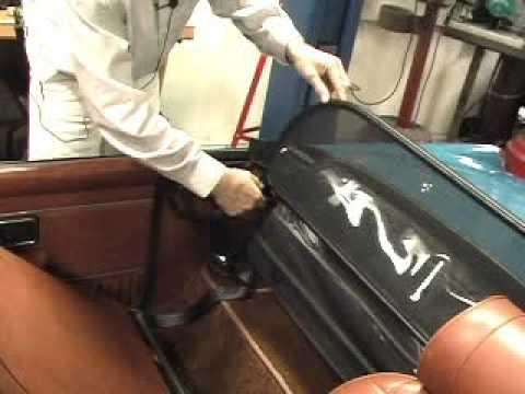 Moss Motors Mgb Folding Windblocker Youtube