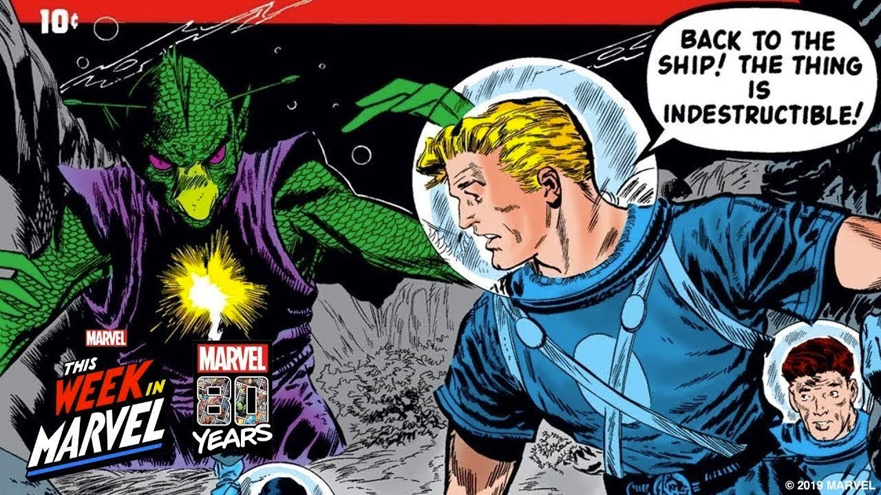 The origin of Marvel Comics as we know it with C B  Cebulski!   This Week  in Marvel