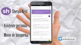 Sherpa Next -Analisis Completo - Alternativa Siri Android