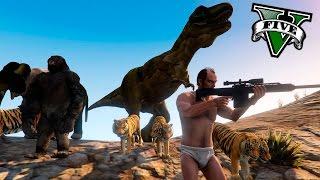 GTA V PC MODS - EL CAZADOR DE ANIMALES RAROS Y EXOTICOS ! RANDOM MODS - ElChurches thumbnail