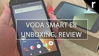 Vodafone Smart E8 Unboxing & Hands-on Review: £50 smartphone!