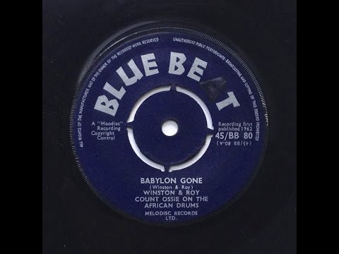 Winston & Roy With Count Ossie - Babylon Gone