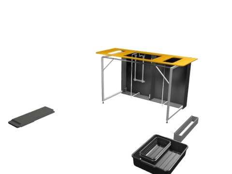 Transformer Portable Bar Counter