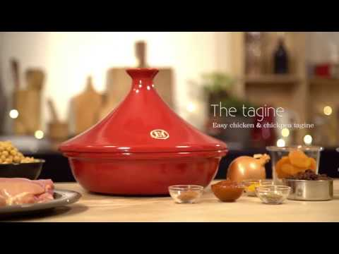 Emile Henry Tagine: Chicken with Chickpeas - YouTube