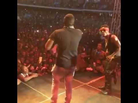 Shatta Wale thrilled fans at S Concert 2016