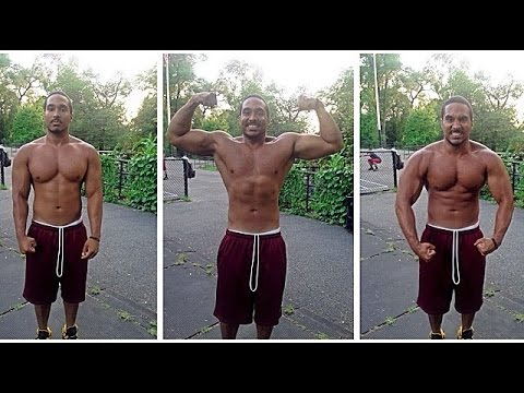High Intensity Training Routine (Sprint, Push Ups, Squats)