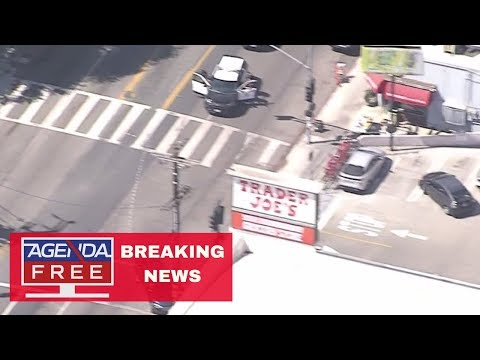 Possible Hostage Situation at Trader Joe's in Los Angeles - LIVE BREAKING NEWS COVERAGE