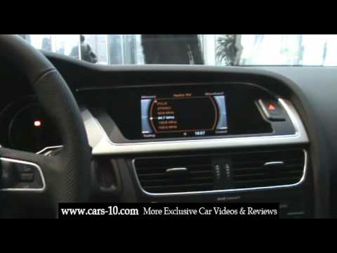 2009 audi a5 interior review video youtube. Black Bedroom Furniture Sets. Home Design Ideas