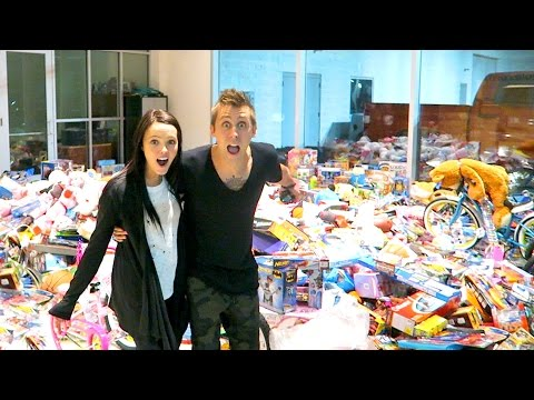 Thumbnail: OUR MASSIVE TOY DRIVE!!