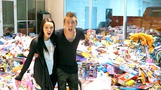 OUR MASSIVE TOY DRIVE!!