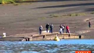 Edersee: Die alte Brücke bei Asel taucht auf