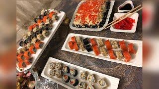 Суши роллы и Суши торт