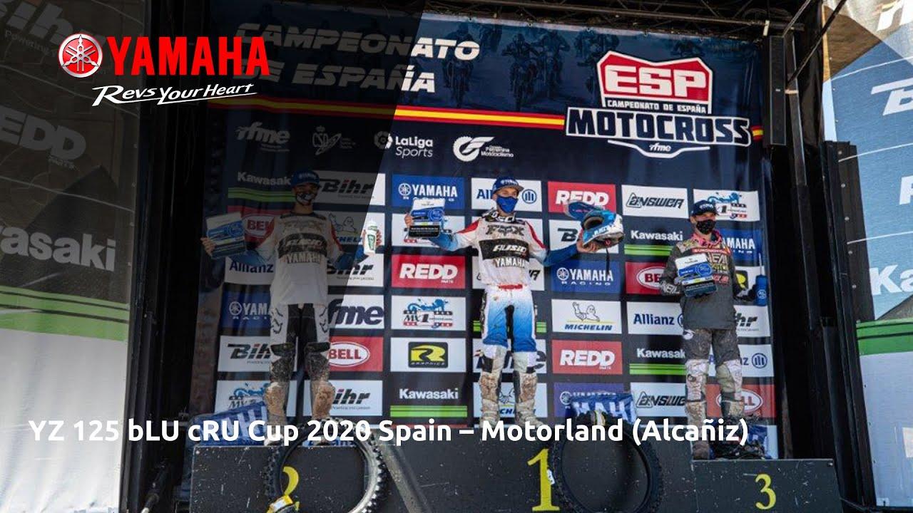 Yamaha YZ125 bLU cRU Cup 2020 Spain - Motorland (Alcañiz)