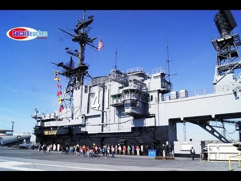 USS Midway Aircraft Carrier Museum San Diego Video Tour