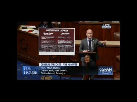 Congressman Max Rose Pushes to Close Lobbyist Loophole, Crack Down on Corruption in Washington