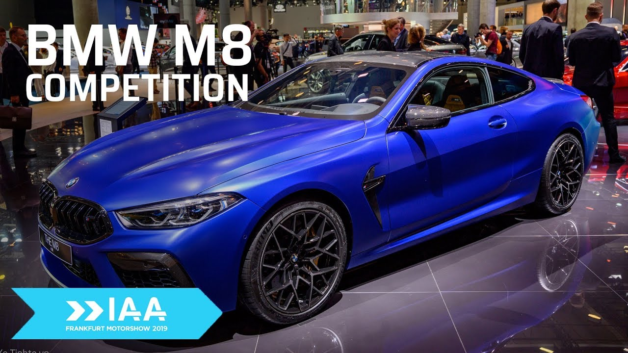 Khám phá thiết kế BMW M8 Competition Coupe