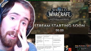Asmongold Reacts To The WoW Q&A - October 11th, 2018
