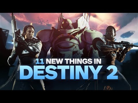 11 New Things in Destiny 2